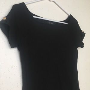 White House Black Market Scoop Neck XS Blouse
